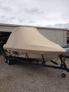 Canvas tops for boats